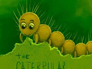Caterpillar - character skecth