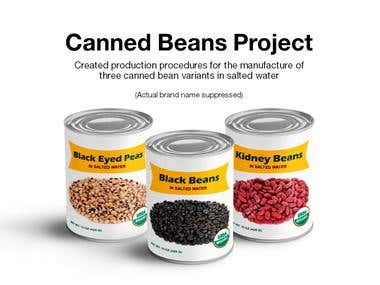 Canned Beans Project