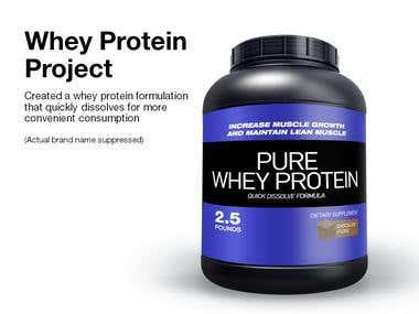Whey Protein Project