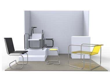 Asimetru chair collection
