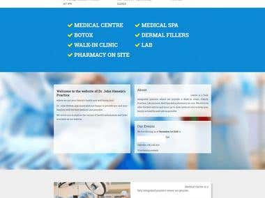 Physician website