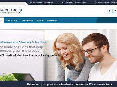 Server Centrix Website