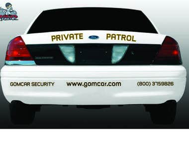 Graphic for Patrol Car