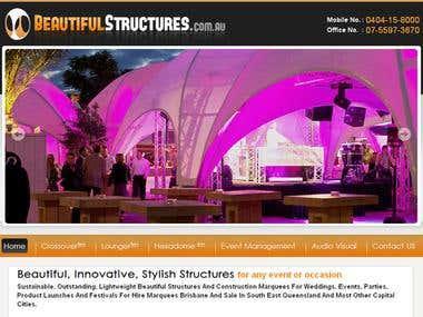 BeautifulStructures - Django