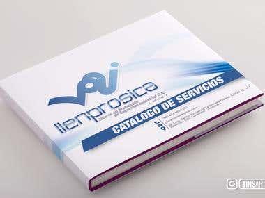 Diseño de Catálogo | Lienprosica | Seguridad industrial