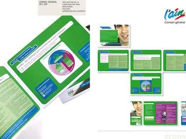 Brochure Design Communication for General Public