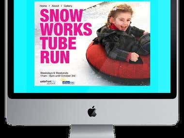 Snow Works Tube Run