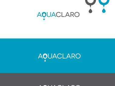 AquaClaro logo concept
