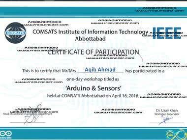 Arduino & Sensor Design