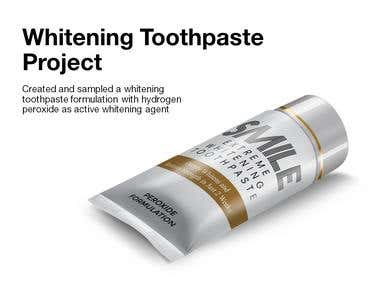 Whitening Toothpaste Project