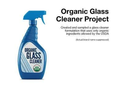 Organic Glass Cleaner Project