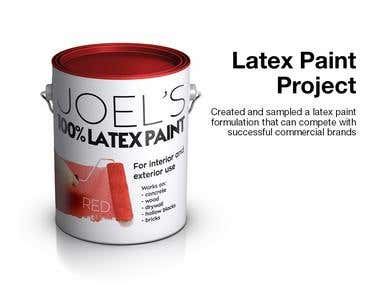Latex Paint Project