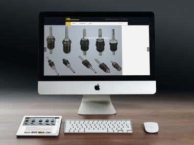 Website for enterprise
