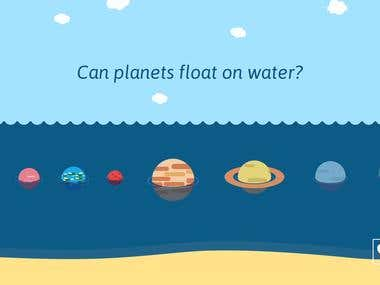 Can planets float?