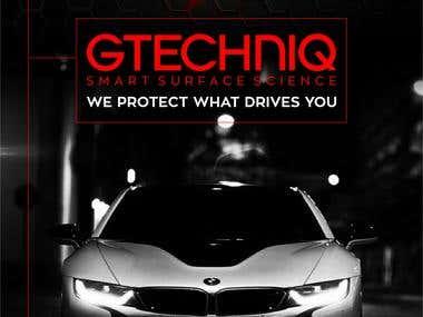Gtechniq Banners
