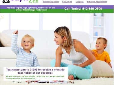 SEO for www.mycarpetzen.com