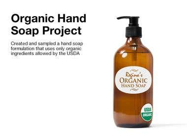 Organic Hand Soap Project