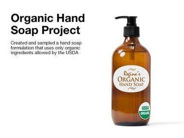 Organic Hand Soap Project