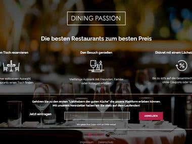 SEO On Page for www.diningpassion.de