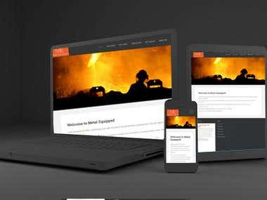 5 Pages Simple Website