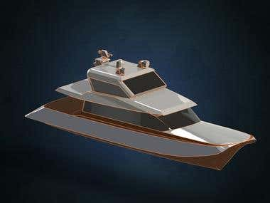 Modeling of a Yacht