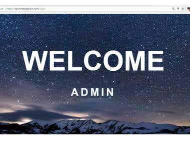 Interactive Login Page(https://tarininetradham.com/login)