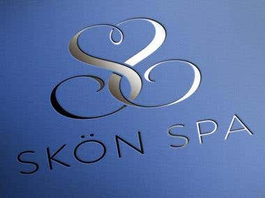 Logo design for Skon Spa