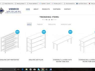 Website For USSDCO