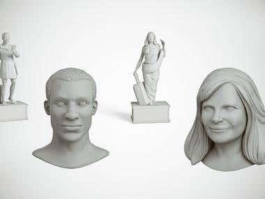 3D Sculpting Figurine