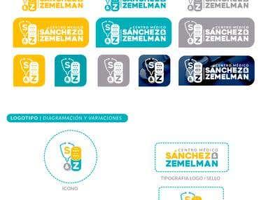 Identidad Corporativa | S&Z Centro Medico | Logo + Papeleria