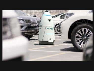 3D MODELLING ROBOT FOR PARKING