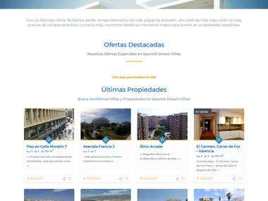 Spanish Real Estate Website - http://www.spanishdreamvillas