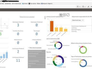 Qlikview Database Analysis Sample