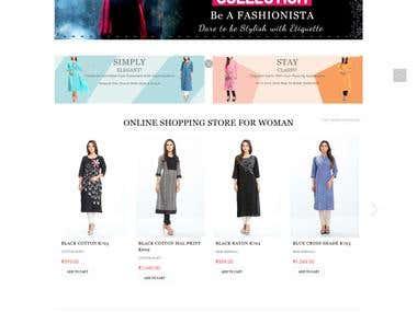 Etiquette Apparel (e-Shopping site)