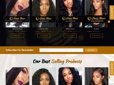 Hair Wig Website
