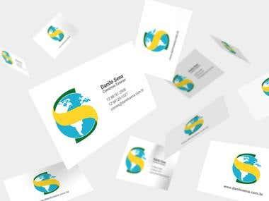 Criação de cartão de visitas e ReDesign do logo.