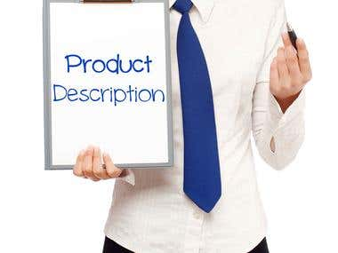 Product Description Samples