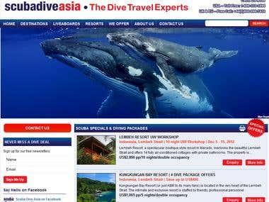 Scuba Dive Asia - CMS