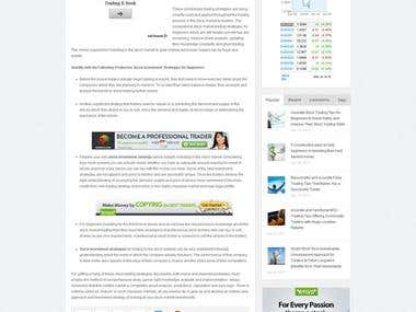 Article Writing for Adsense Blog