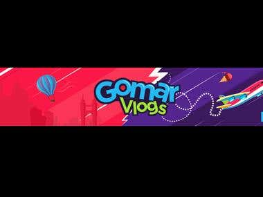 Banner for youtube channel