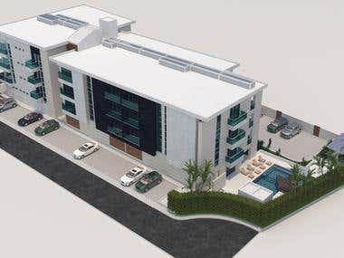 Renders Edificio Republica Dominicana