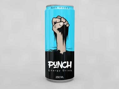 Energy drink design