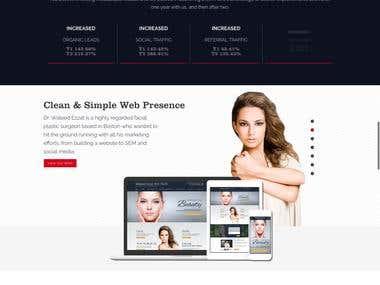 Agency Website in Wordpress