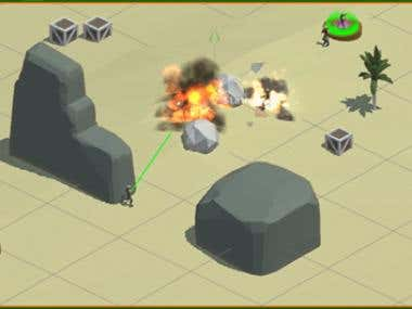 3D Action Strategy Mobile Game