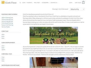 Internet Marketing Camapign - Lead Generation for iCorkfloor