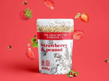 Porridge package design!