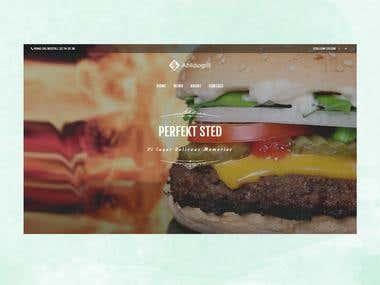 WordPress E commerce Website for pizza