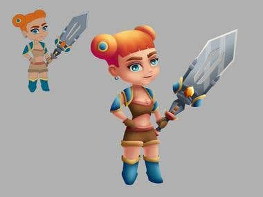 Character for game