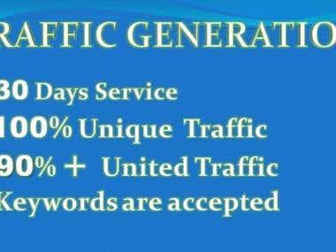 Provide Unlimited Web Traffic