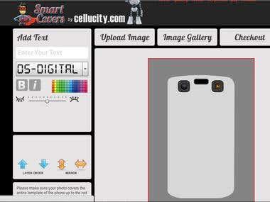 Smart Cover Designer online